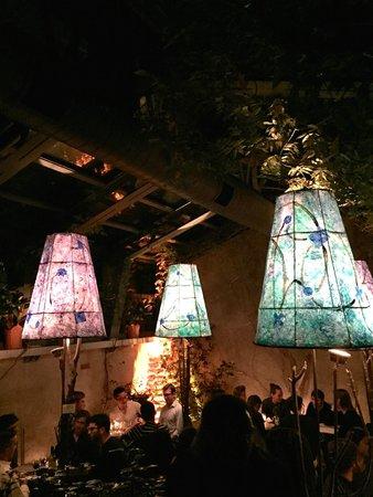 patio with lanterns picture of la lanterna di vittorio new york