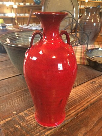 Seagrove, Carolina del Norte: two-handled vase