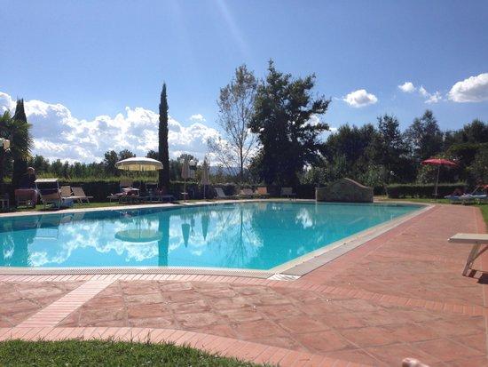 Villa Rigacci : Pool view