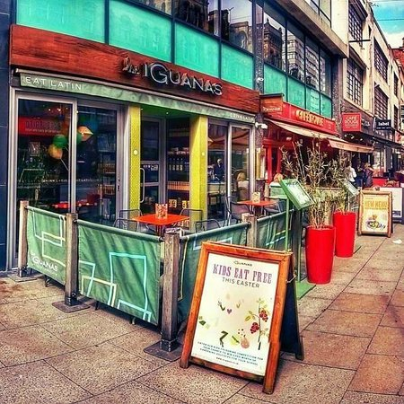 Photo of Mexican Restaurant Las Iguanas - Deansgate at 84 Deansgate, Manchester M3 2ER, United Kingdom