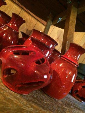 M.L. Owens Pottery: glow pot