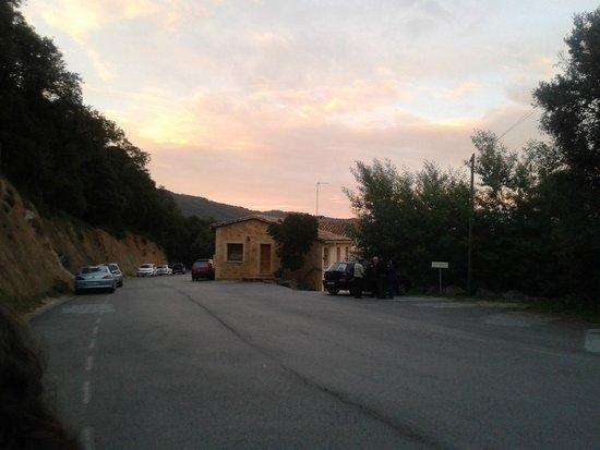 Sant Feliu de Buixalleu, Španielsko: vista de entrada al restaurante