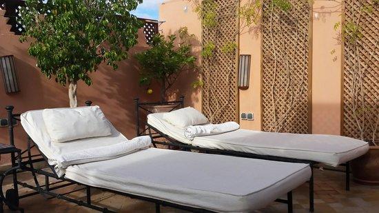 Riad Couleurs Du Sud : Terrasse