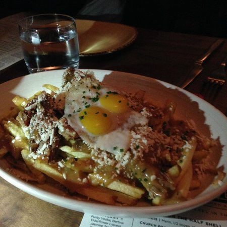 Poutine frites - delish! - Picture of Revel Kitchen and Bar ...