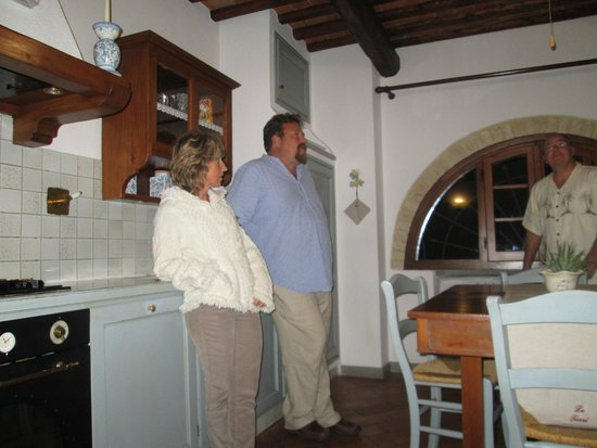 Montespertoli, Italia: Kitchen in the Villa.