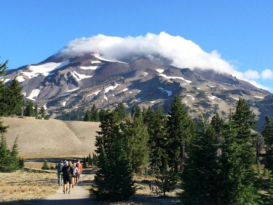 South Sister From Elk Lake South Beach Picture Of South Sister Bend Tripadvisor