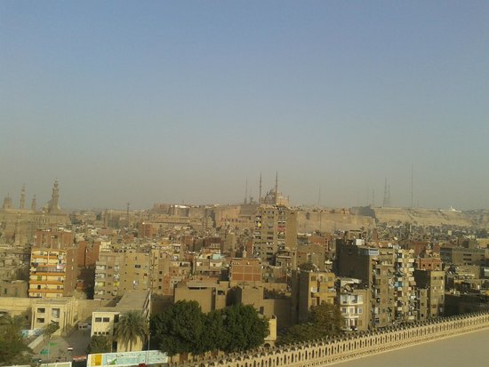 Mosque of Ibn Tulun: City view from Minaret