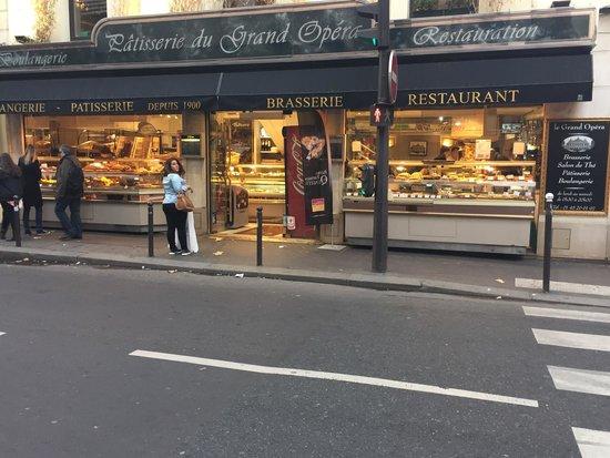 Le Cafe De L Opera Rue Mogador Paris