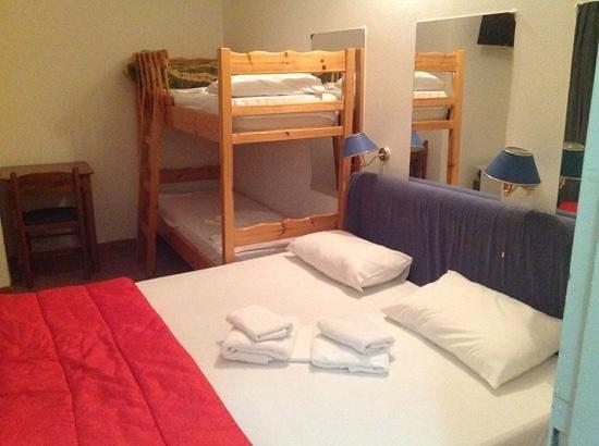 Delfini Hotel: room 58 on the 8-th floor