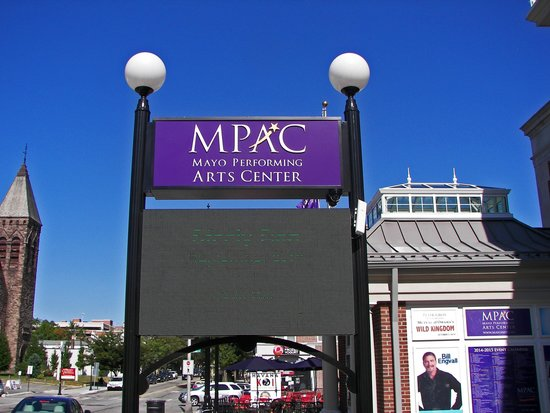 Mayo Performing Arts Center : Billboard