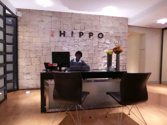 Hippo Boutique Hotel: Hippo Reception area