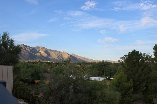 La Posada Lodge and Casitas: another view from restaurant patio