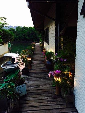 The Mangrove Hideaway Koh Chang: Eingangsbereich