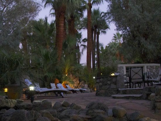 Two Bunch Palms: The Spa relaxing area