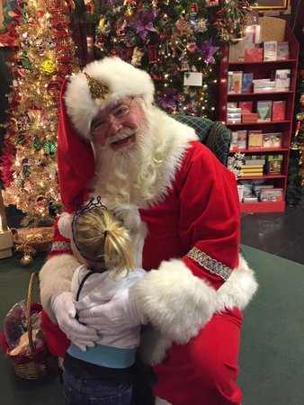 Grand Village Shops: What a great Santa!! Made my daughters trip.