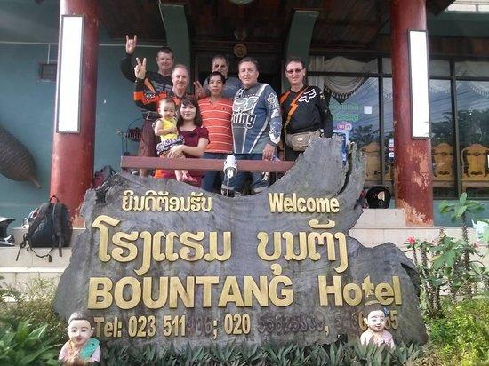 Bountang Hotel & Guesthouse: ngoai canh