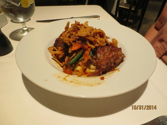 Zodiac Main St: Hanger steak pot roast