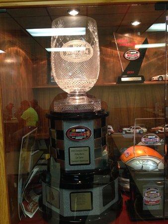 Ridgeway, VA: Trophy in the dinning area