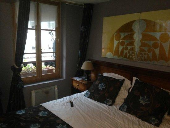 Hôtel Entre Terre Et Mer: bedroom