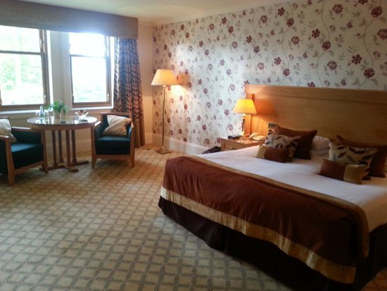 Lochgreen House Hotel : Super comfy huge bed