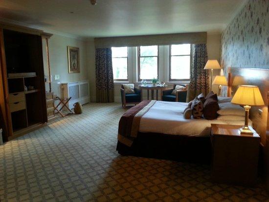Lochgreen House Hotel : Huge room