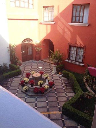 Hotel Trebol: cortile interno