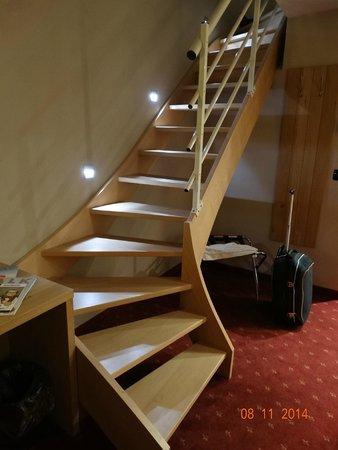 Trap met verlichting - Picture of Hotel Verviers Van der Valk ...