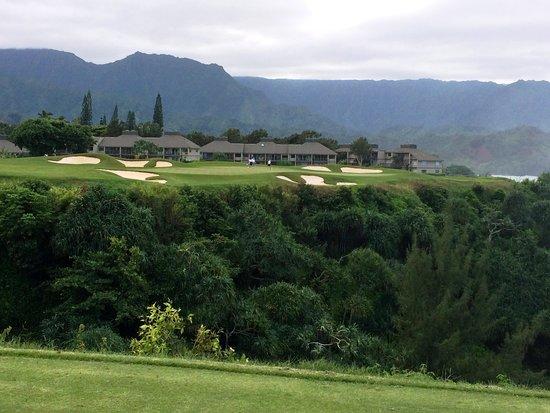 Princeville Makai Golf Club: Par 3 with super views