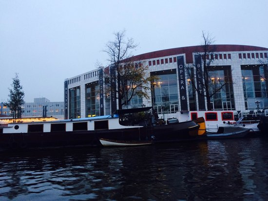 View Of Major Church Picture Of Amsterdam Canal Cruises