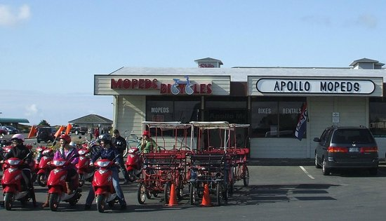 Ocean Shores, WA: Apollo Mopeds