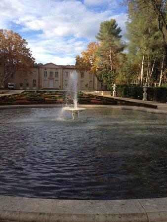 Domaine d'O : Vue de la fontaine