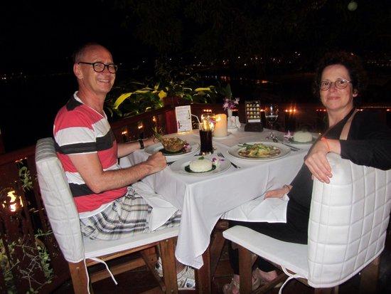 Bella Vista Restaurant: Was verrukkelijk en schitterend uitzicht