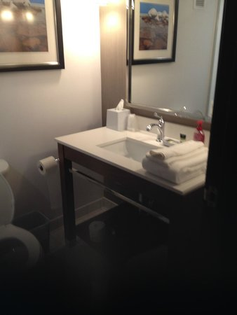 Four Points by Sheraton Saginaw: Beautiful bathroom