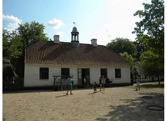 The Funen Village : School house