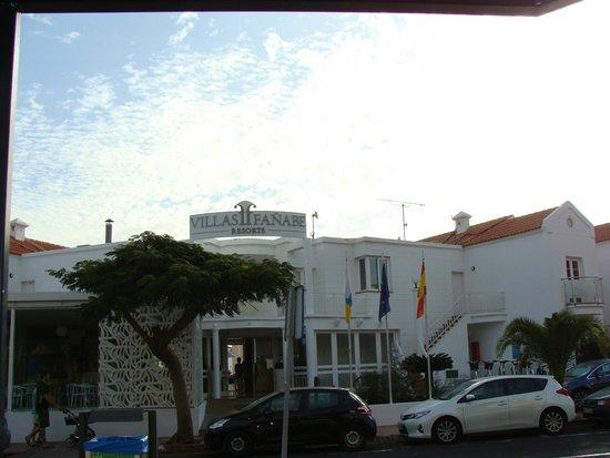 Adonis Hotel Villas Fanabe : Вход в отель