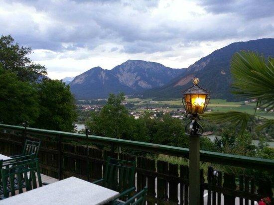 Gasthof Singer: Terrazza panoramica dove è possibile gustare colazione, pranzo, cena, brunch....!!!!!