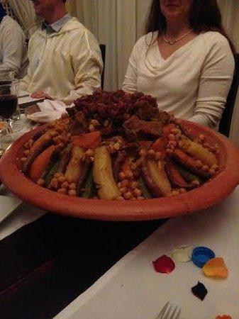 Riad O: Diner