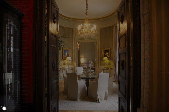 Patrick Hellmann Schlosshotel : UNO DE LOS SALONES.