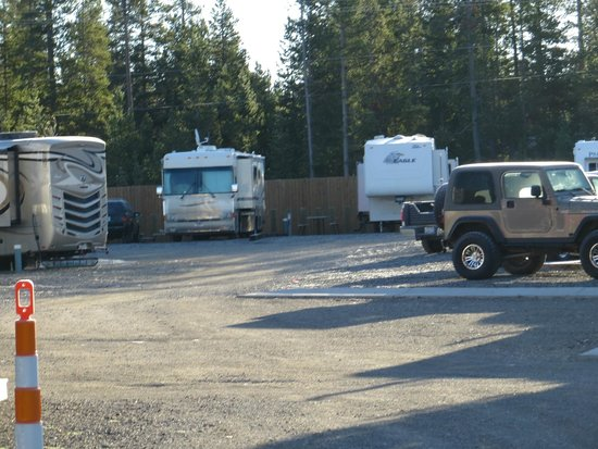 Buffalo Crossing RV Park: What the sites look like