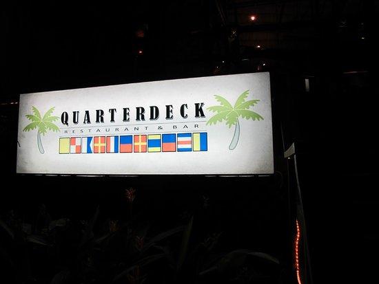 The Quarterdeck Restaurant & Bar: Quarterdeck Restaurant at Laru Beya Resort