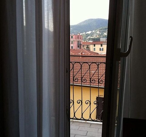 Hotel Mary: View from my room.