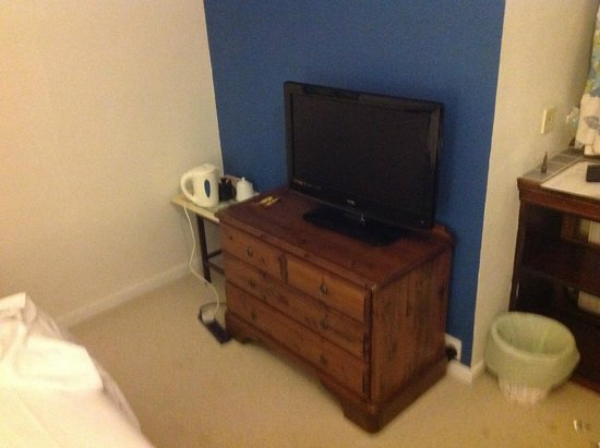 Rosemead Guest House: TV in room was OK.