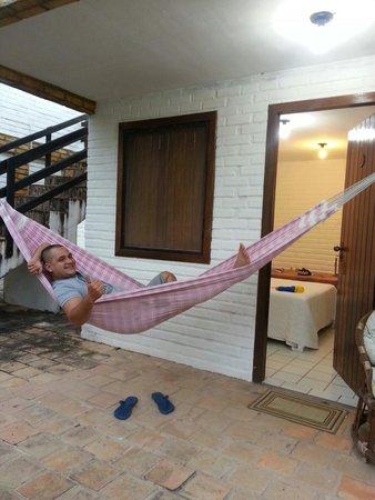 Pousada das Canoas: A afamada rede.
