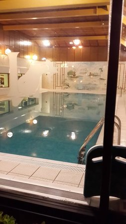 Indoor Heated Pool (a photo from outside)