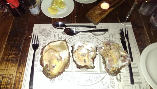 Pescarne: beste oesters!