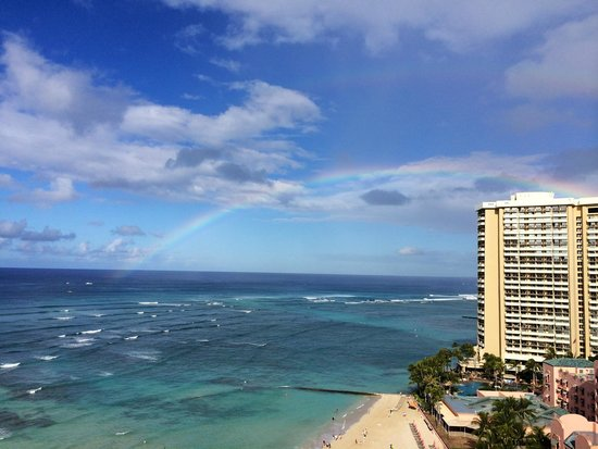 View from partial ocean view room - Picture of Moana ...