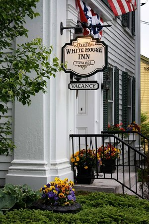 The White House Inn Entrance
