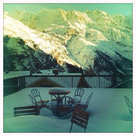 Hotel Regina: Jungfrau Terasse