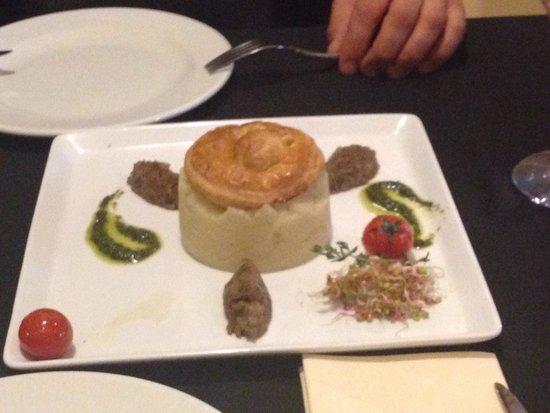 Brasserie Sztuka: Ślimaki z puree ziemniaczanym