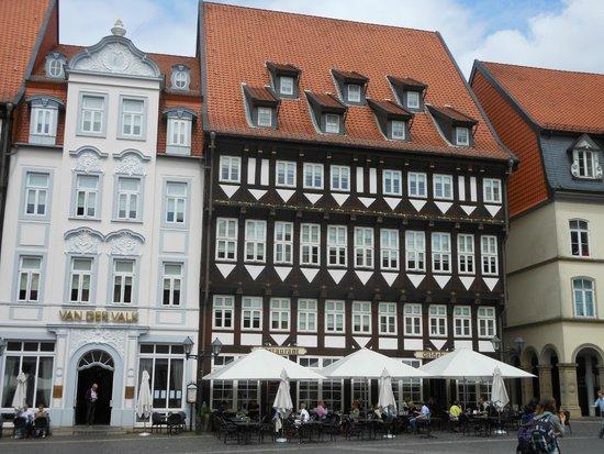 Van Der Valk Hotel Hildesheim Voorgevel Het